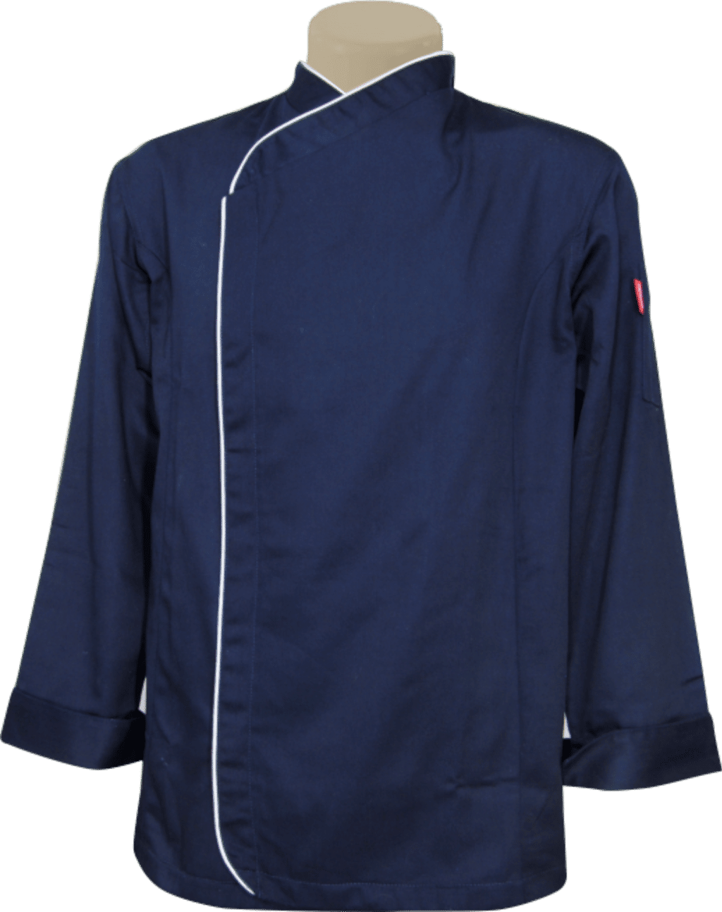 EC49 - EXECUTIVE CHEFS JACKET CONCEALED BUTTONS L/S